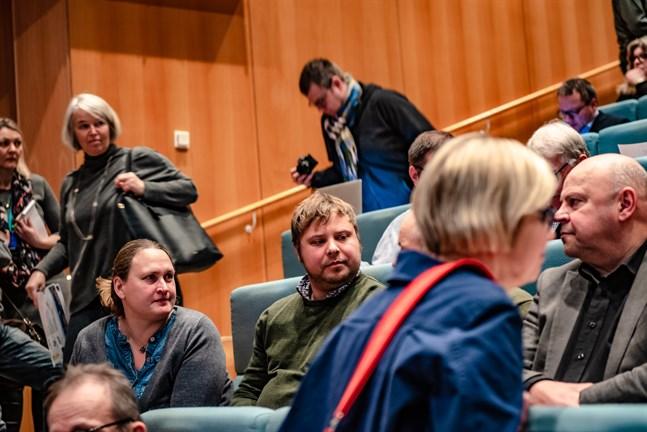 Fiskodlingen engagerar.  Ett seminarium om fiskodling hölls i Jakobstad i december i fjol.