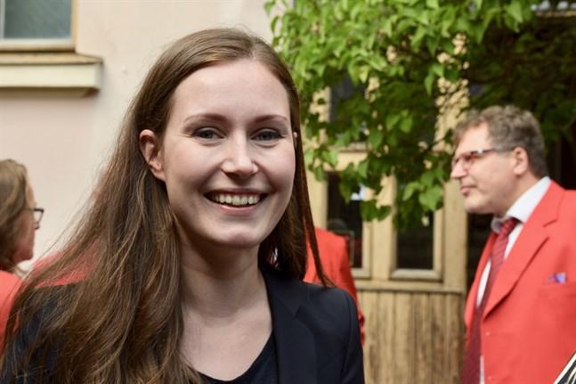 Kommunikationsminister Sanna Marin (SDP) kan bli ny statsminister om Antti Rinne tvingas avgå.