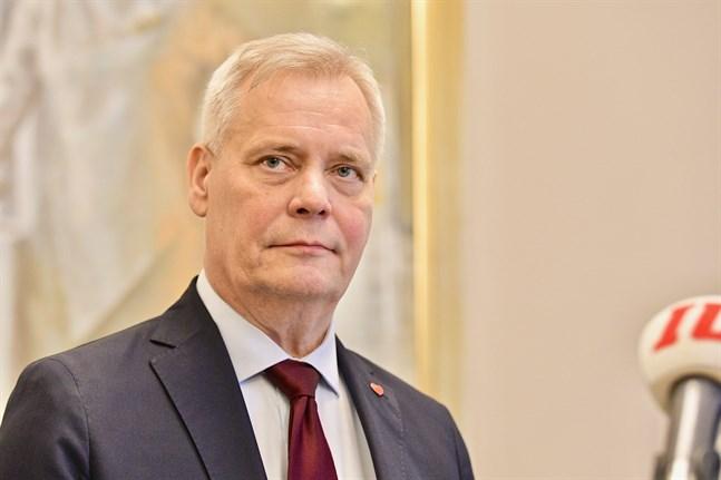 Antti Rinne. Arkivbild.
