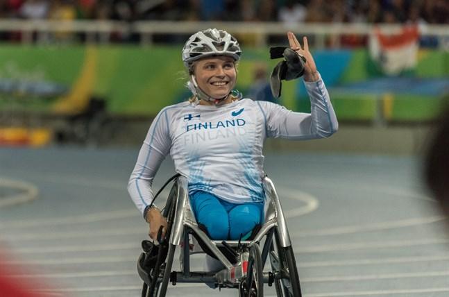 Världsmästaren Amanda Kotaja är en av fem idrottare som är klara för para-OS i Tokyo 2020.
