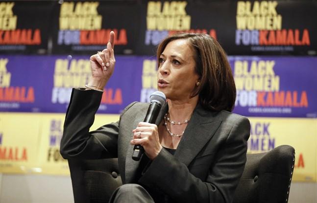 Kaliforniensenatorn Kamala Harris ger upp försöken att bli Demokraternas presidentkandidat. Arkivbild.