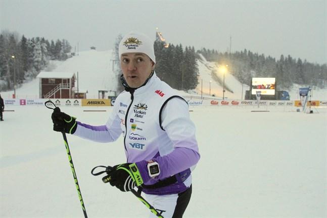Sami Jauhojärvi ser inga nackdelar med att fluorvallorna försvinner – det är bara farten som sjunker.