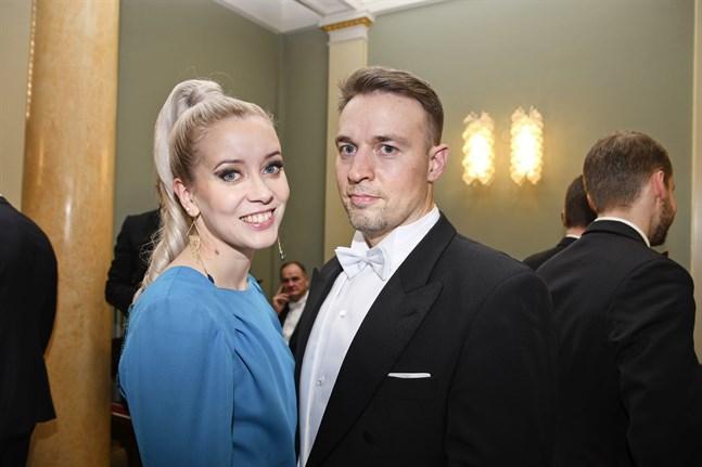 Sofia Virta och maken Peeter Nummi.