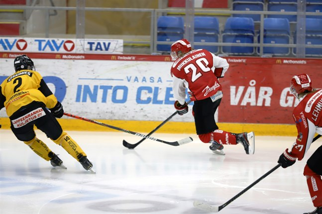 Iivari Miikkulainen har hittat en grym målform.