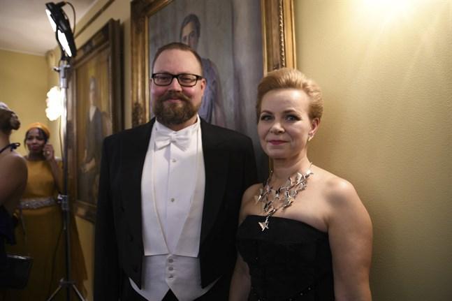 Matias och Anu Norrgrann. FOTO: Catariina Salo