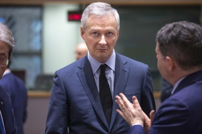 Frankrikes finansminister Bruno Le Maire.