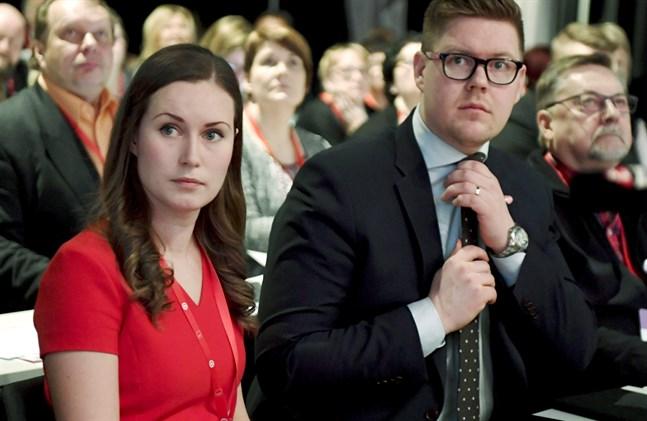 Heter Finlands nästa statsminister Sanna Marin eller Antti Lindtman?
