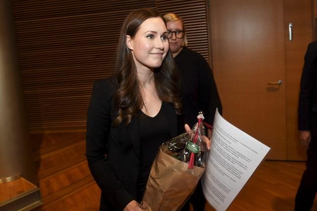 SDP valde Sanna Marin till nästa statsminister.