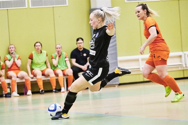 Sports damligalag i futsal blev utan marknadsföringsstöd i fjol.