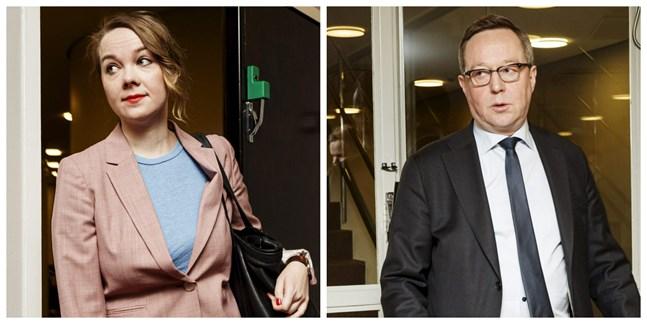 Katri Kulmuni och Mika Lintilä byter ministerposter.