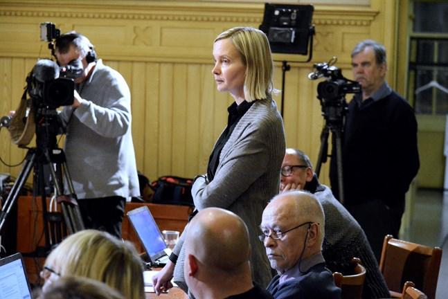 SFP-gruppen inleder inget juridiskt efterspel till förra veckans beslut i Kaskö stadsfullmäktige att säga nej till fusion med Närpes, säger ordförande Catharina Skur.