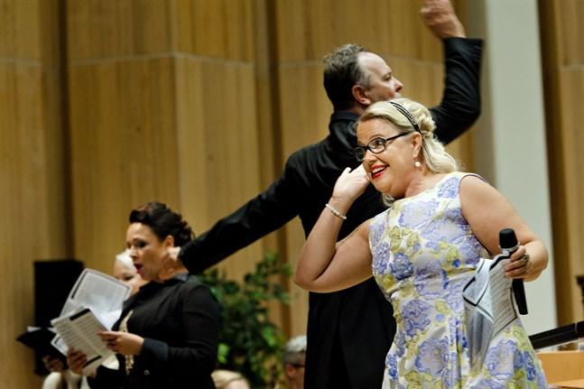 Operasångaren Anu Komsi kan få Nordiska rådets musikpris 2021.