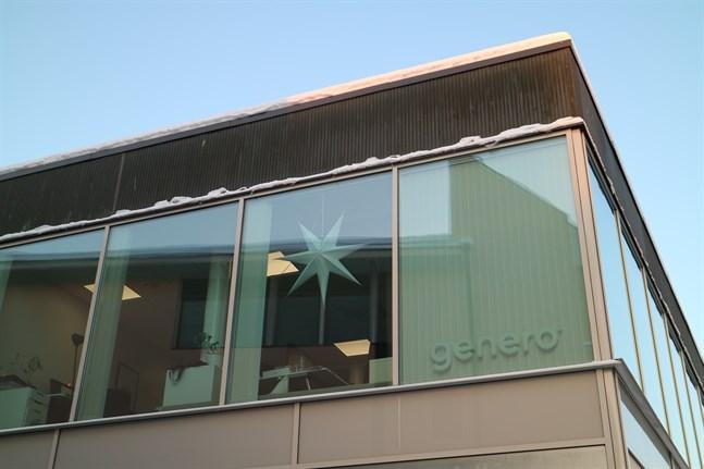 På Generos kontor på Alholmsgatan i Jakobstad jobbar 15 personer.