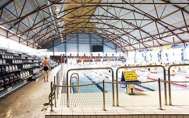 Vasa öppnar simhallen på måndag morgon.