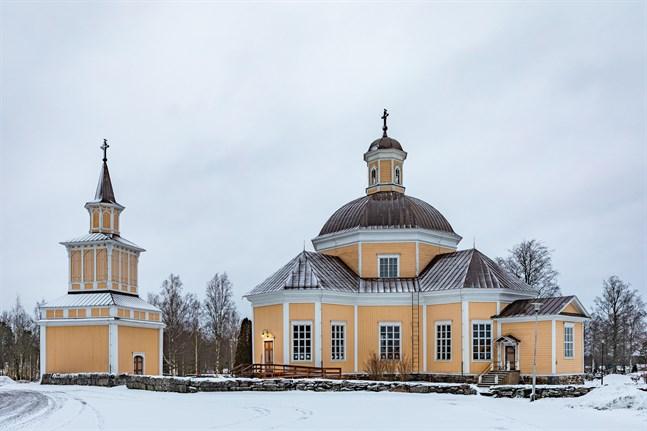 Nedervetil kyrkas sakristia genomsöktes vid inbrottet, antagligen i jakt på pengar.