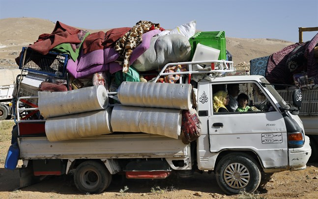Miljontals människor har flytt från kriget i Syrien. Arkivbild.