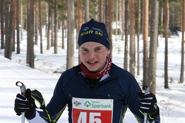 Lukas Kuuttinen var i en klass för sig i Kaamoshiihdot i Seinäjoki på lördagen.