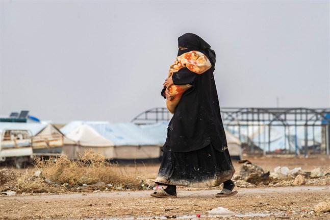 Lägret al-Hol i Syrien hyser över 70000 människor som har hört till terrorgruppen IS.