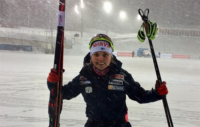 Heidi Kuuttinen fick en bra start på junior-VM i Schweiz.