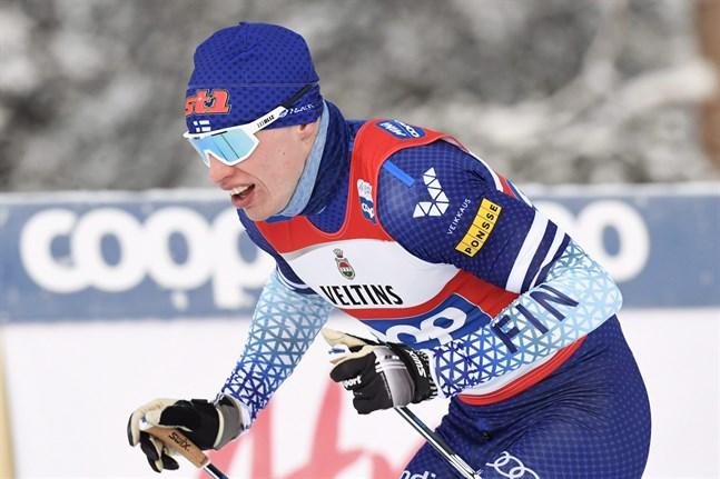Iivo Niskanen stod inte helt oväntat för den bästa finländska insatsen under världscupsöndagen i Davos.
