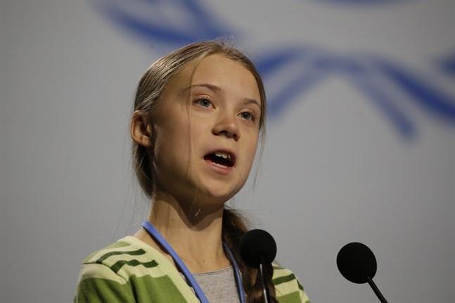 """""""Min erfarenhet är att bristen på insikt är lika stor överallt, inte minst bland dem som vi valt att leda oss"""", sade klimataktivisten Greta Thunberg i sitt tal inför delegaterna på klimatmötet i Madrid."""
