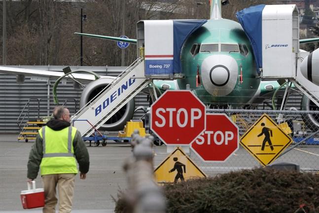 Boeing pausar produktionen av modellen 737 Max i januari, enligt en källa. Arkivbild.