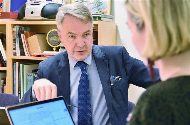 Utrikesminister Pekka Haavisto (Gröna) har varit i hetluften den senaste tiden gällande informationsgången inom Utrikesministeriet.