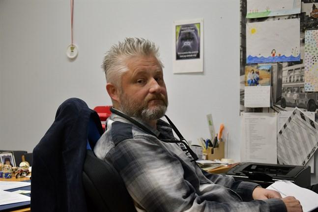 Christian Lindedahl är en av de sökande till tjänsten som tf direktör för K5.