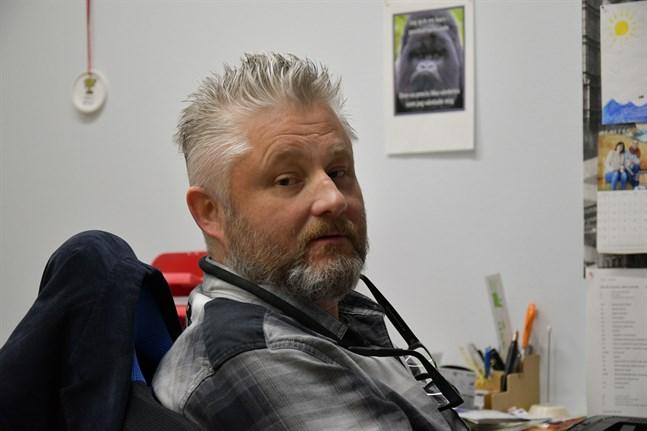 Christian Lindedahl är ordförande i styrgruppen för Bottenhavets hälsa.