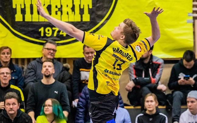 Jiri Hänninen gjorde 14 poäng för Karlebylaget.
