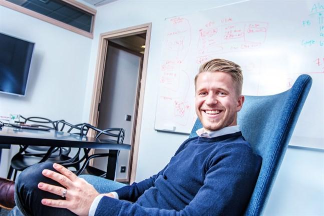 Sebastian Östman har valts till årets unga styrelseproffs.