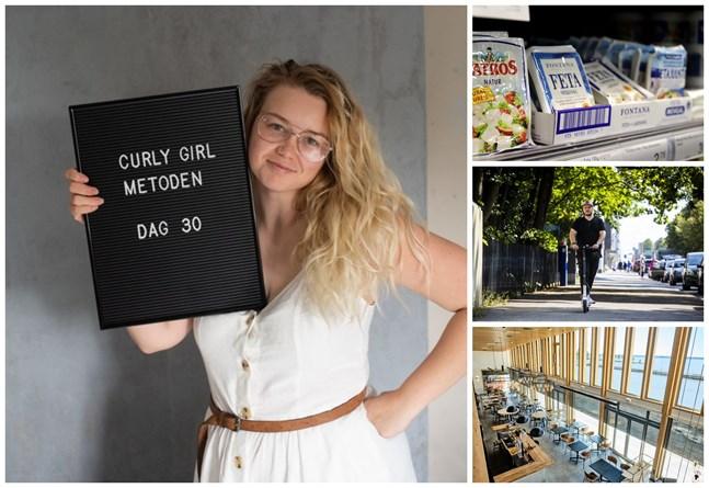 Curly girl-metoden har googlats flitigt under året – i somras intervjuade vi Cindy Ekman Björkskog i Karleby som prövat på metoden. Även sökorden ugnsfetapasta och elsparkcykel hör till årets mest populära. I Österbotten är det många som sökt information om Vasas många nya restauranger, bland annat Hejm som öppnade i somras.