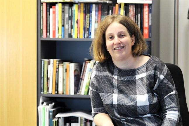 Maria Ehrnström-Fuentes är forskardoktor på Hanken.
