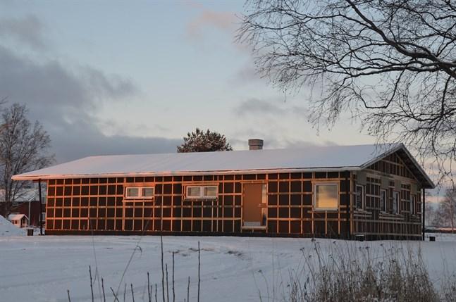 Arbetet på servicehuset i Övermark har redan påbörjats.