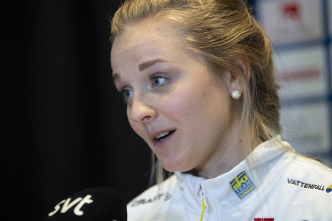 Stina Nilsson avbryter touren i förtid på grund av skada. Arkivbild.