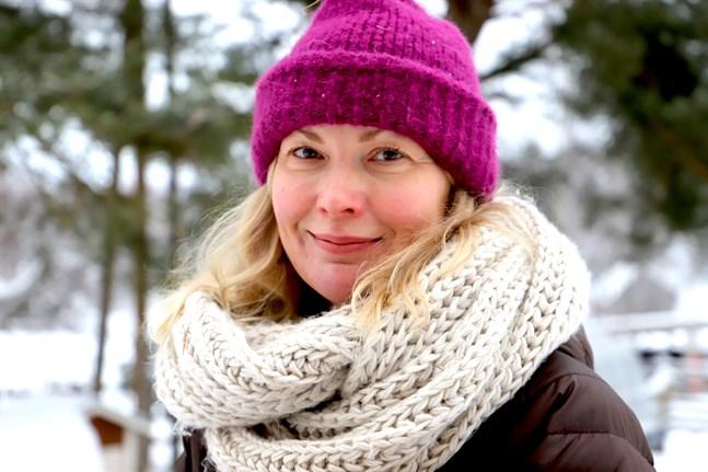 Anna Salmi får pris som årets egenföretagare i regionen.