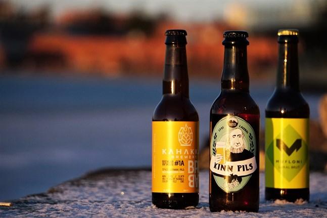 Några nyskapande öl inför det nya året.
