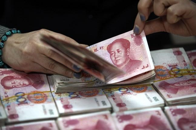 Kinas centralbank sänker kraven på kapitalreserver i landets banker. Arkivbild.