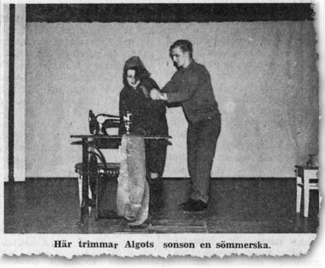 Faksimil ur SÖ 8.1.1970