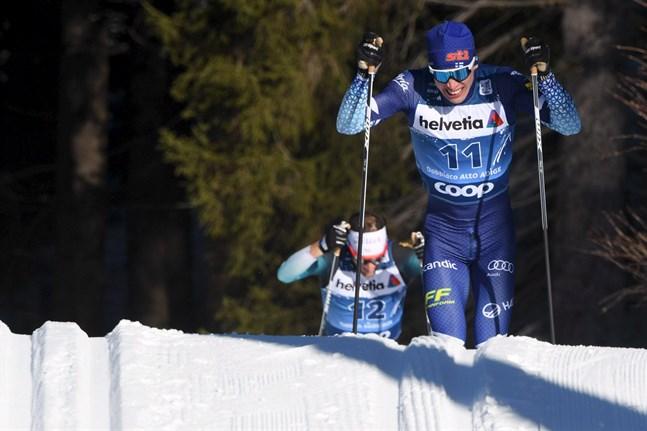 Iivo Niskanen fick inte till något panglopp i den klassiska masstarten i Tour de Ski.