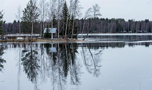 Surheten i Larsmo-Öjasjön har minskat något och därför kan regleringen återgå till det normala.