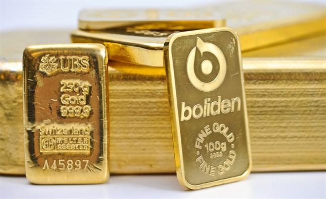 Guldpriset stiger. Arkivbild.
