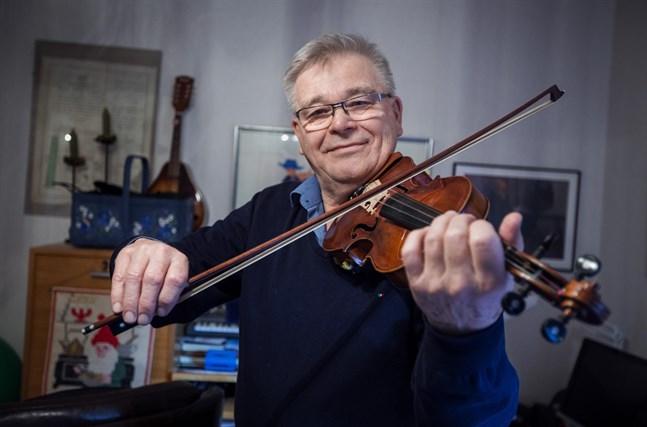 Violinen är Karl-Erik Bergs instrument.