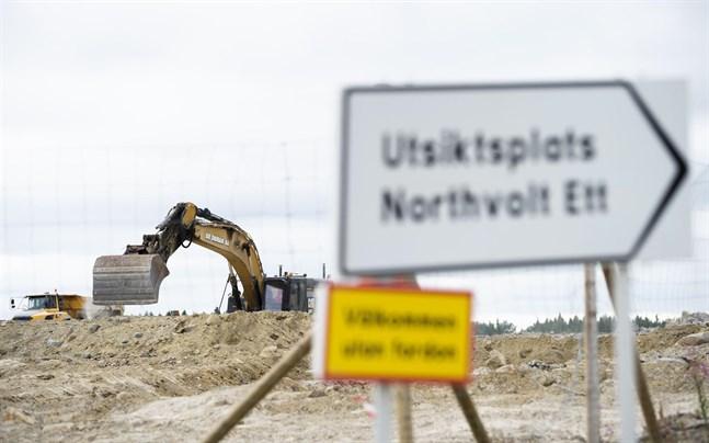 Det behövs mycket el till Northvolts batterifabrik.