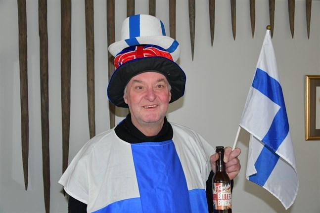 Nu är det blåvitt för Mike Roddis. I november blev han finsk medborgare.