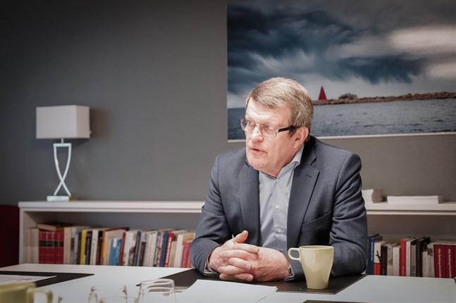 Kjell Herberts är preses för Svensk-Österbottniska samfundet, som i år firar 100 år.