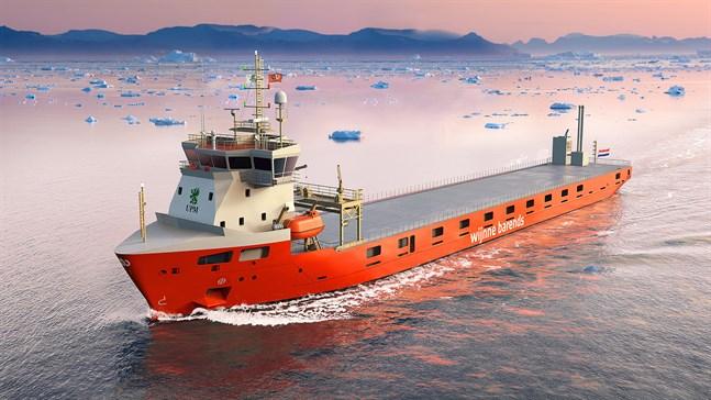 De nya fartygen har isklass som räcker för bland annat Bottniska viken och Östersjön.