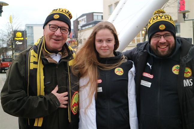 Ole Gustafsson, Amanda Kass och Magnus Slotte är alla taggade för en säsong i division ett.