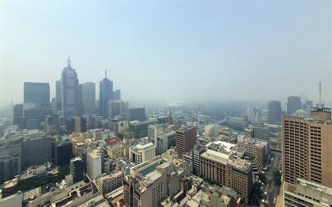 På tisdagsmorgonen hade Melbourne världens sämsta luftkvalitet.