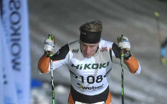 Lauri Lepistö visade på tisdagskvällen att tanken inte var tom, trots deltagande i Tour de Ski vid årsskiftet.